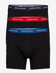 Björn Borg - SHORTS SAMMY NOOS CONTRAST SOLIDS - sous-vetements - black - 0