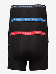 Björn Borg - SHORTS SAMMY NOOS CONTRAST SOLIDS - sous-vetements - black - 1