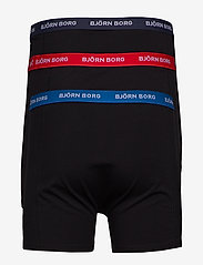 Björn Borg - SHORTS SAMMY NOOS CONTRAST SOLIDS - sous-vetements - black - 2