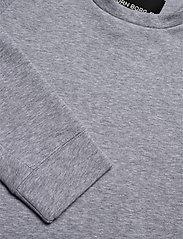 Björn Borg - CREW BBCENTRE BBCENTRE - sweatshirts - h108by light grey melange - 2