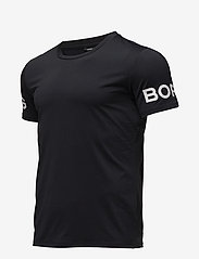 Björn Borg - TEE BORG 1p - sports tops - black beauty - 1