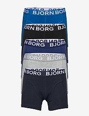 Björn Borg - SHORTS SAMMY SOLID - bielizna komplet - blue depths - 0
