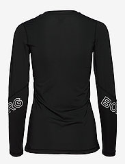 Björn Borg - CYNTHIA LS TEE - longsleeved tops - black beauty - 1