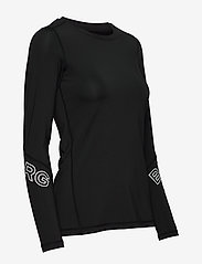 Björn Borg - CYNTHIA LS TEE - longsleeved tops - black beauty - 3