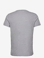 Björn Borg - TEE CENTRE CENTRE - basic t-shirts - h108by light grey melange - 1