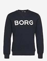 Björn Borg - CREW M BB LOGO M BB LOGO - basic sweatshirts - night sky - 0