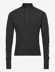 Björn Borg - MIDLAYER HALF ZIP BORG BORG - training jackets - black beauty - 1