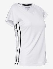 Björn Borg - V TEE TESIA TESIA - t-shirts - brilliant white - 5