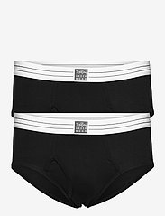 Björn Borg - BRIEF ORIGINAL HIP BRIEF ORIGINAL SOLID - briefs - black beauty - 0