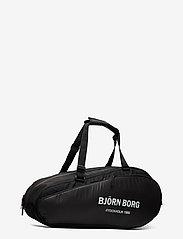 Björn Borg - BJÖRN TENNIS BAG - sacs de sports de raquette - black - 2