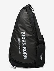Björn Borg - BJÖRN PADELBAG - ketsjersporttasker - black - 0