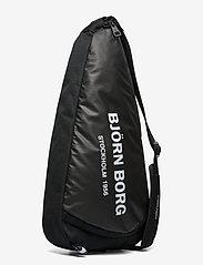 Björn Borg - BJÖRN PADELBAG - ketsjersporttasker - black - 2