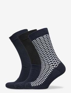CORE ANKLE SOCK 3p - chaussettes régulières - multipack 2