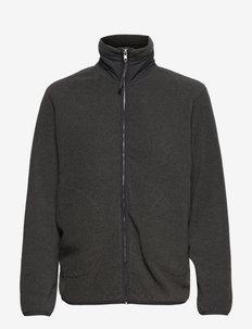 STHLM FLEECE JACKET - training jackets - anthracite melange