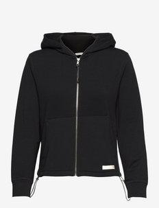 STHLM SOFT HOOD - training jackets - black beauty