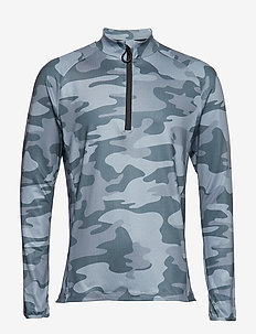 HALF ZIP POLO ARIC 1p - LA CLOUDS GREY
