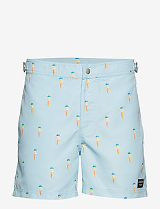 SWIM SHORTS SAINT 1p - BB ICE CREAM DREAM BLUE
