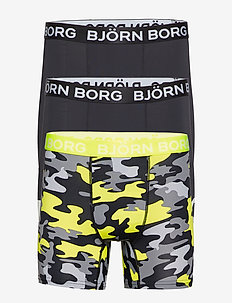 SHORTS BB BOOT CAMP CAMO 3p - BLACK BEAUTY