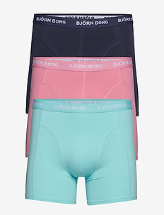 SHORTS SEASONAL SOLID 3p - ARUBA BLUE