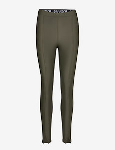 TIGHTS CECE CECE - running & training tights - forest night