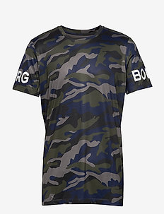 TEE BORG BORG - MULTI CAMO FOREST NIGHT