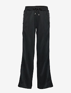 WIDE TRACK PANTS BORG BORG - BLACK BEAUTY