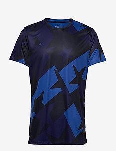 TEE ATOS ATOS - t-shirts - starstruck tilt blue