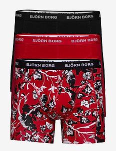 SHORTS SAMMY BB FLEUR DE JARDIN - CHINESE RED