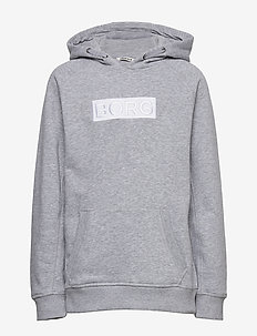 BORG SPORT HOOD - hoodies - h108by light grey melange