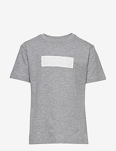 BORG SPORT TEE - short-sleeved - h108by light grey melange