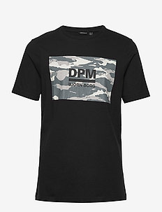DPM SPORT TEE - t-shirts - black beauty
