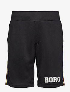 TEAM BORG SHORTS - BLACK BEAUTY