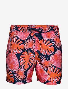 SYLVESTER SYLVESTER LOOSE SHORTS - shorts de bain - bb la garden peacoat orange