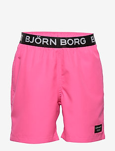 KEITH KEITH LOOSE SHORTS - swimshorts - pink glo