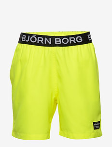 KEITH KEITH LOOSE SHORTS - swimshorts - safety yellow