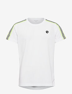 TOMLIN TEE - BRILLIANT WHITE