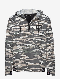 APOLLO ANORAK - TIGERSTRIPE MURALE JUNGLE