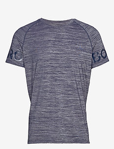ARY TEE - t-shirts - peacoat melange