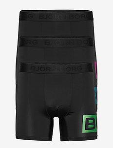 SHORTS PER BB RADIATE - BLACK GREEN