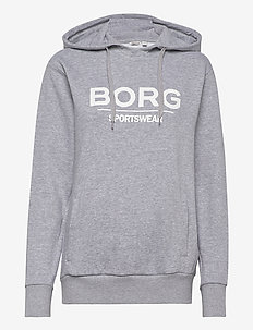 HOOD FREIJA FREIJA - hættetrøjer - h108by light grey melange
