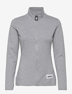 JACKET FLAVIA FLAVIA - bluzy i swetry - h108by light grey melange