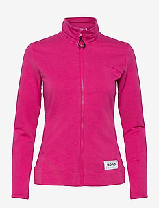 JACKET FLAVIA FLAVIA - sweatshirts - fuchsia melange