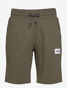 SHORTS SION SION - casual shorts - forest night