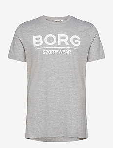 TEE SAMIR SAMIR - t-shirts - h108by light grey melange
