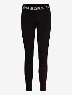 TIGHTS OLINDA OLINDA - running & training tights - black beauty