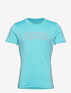 PERF TEE INGEMAR INGEMAR - t-shirts - blue fish