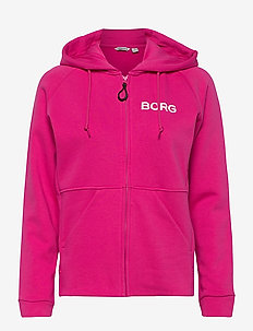 HOODED JACKET FANNY FANNY HOODED JACKET - bluzy z kapturem - fuchsia purple