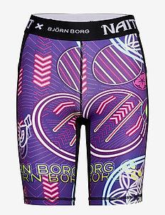 BIKE SHORTS CARLY CARLY - träningsshorts - naito purple