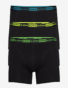 SHORTS SAMMY SEASONAL NEON - underwear - black beauty