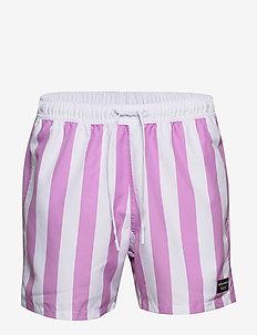 LOOSE SHORTS SYLVESTER SYLVESTER - badebukser - bb bold stripe violet
